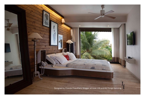 Bedroom - Designed by Chanda Chaudhary