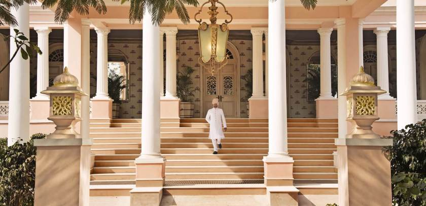 Sujan Raj Mahal Palace Jaipur Entrance