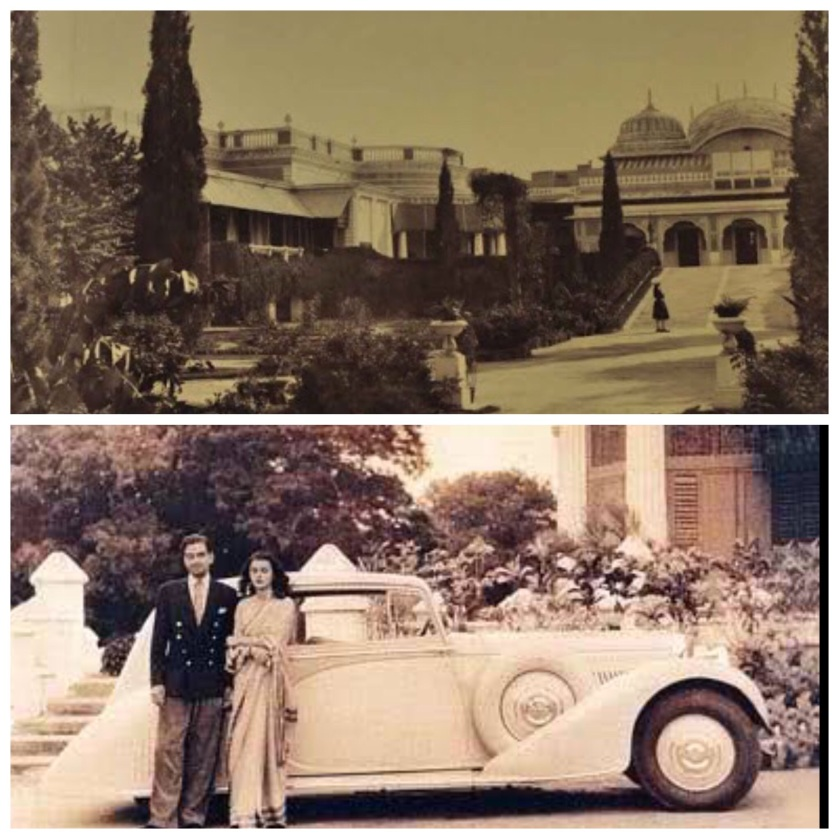 Raj Mahal Archive : HH Sawai Mansingh and Maharani gayatri Devi