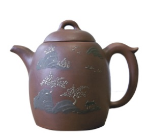 "Yixing : the first ""official"" teapot (Nicolas Mass) Picture Courtesy www.theteapot.com"