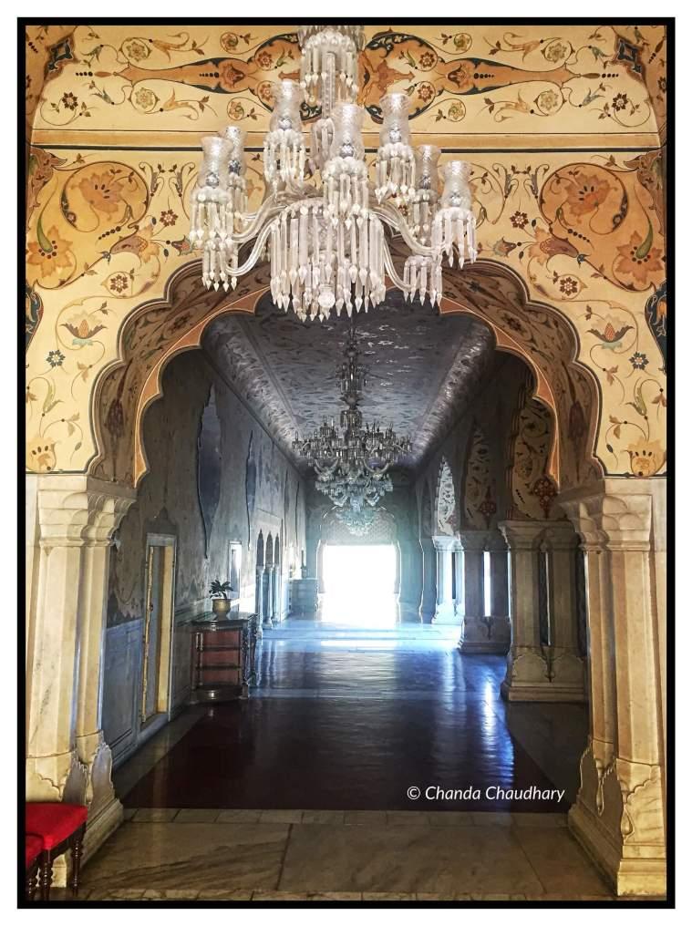 Chandra Mahal Entrance