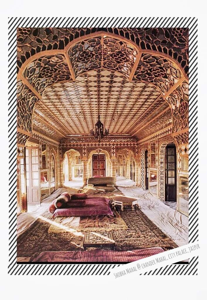 Shobha Mahal is the third living room at King's residence