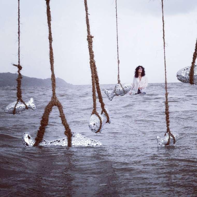 Monsoon Heritage Studio art installation in GOa
